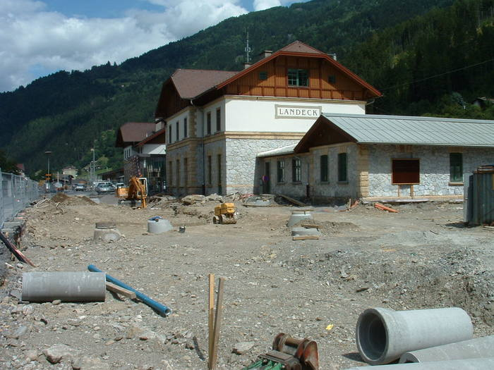 Reconstruction of the building in 2004.