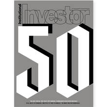 "<cite>Institutional Investor</cite>, ""Tech 50"" cover"
