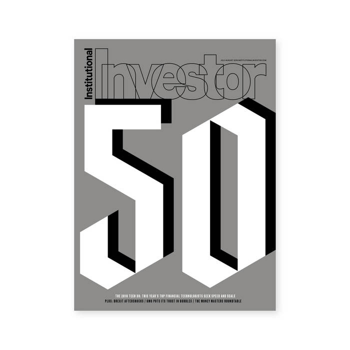 "Institutional Investor, ""Tech 50"" cover"