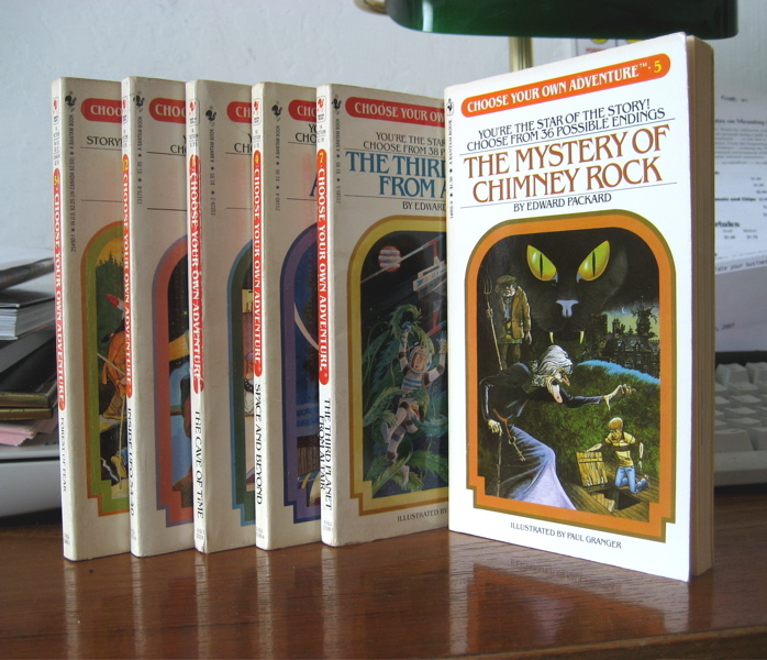 Choose Your Own Adventure book series 3