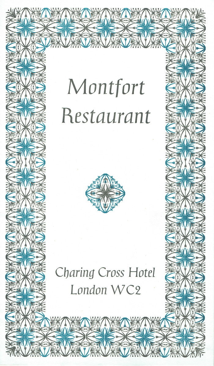 British Transport Hotels menu cards 2