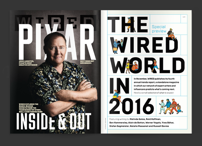 "Wired (UK) magazine, ""The Wired World"" 2015, 2016 3"