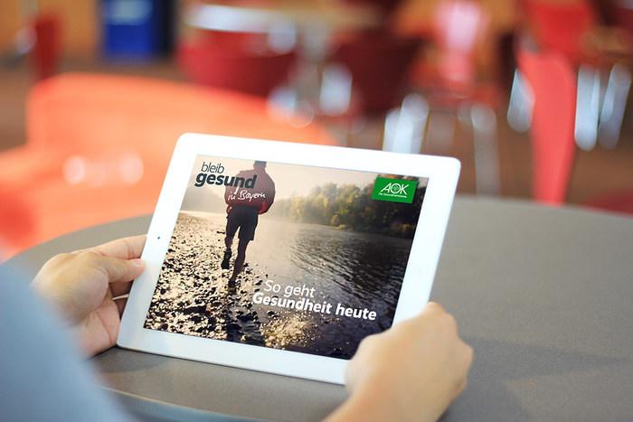 bleib gesund magazine, tablet edition 1