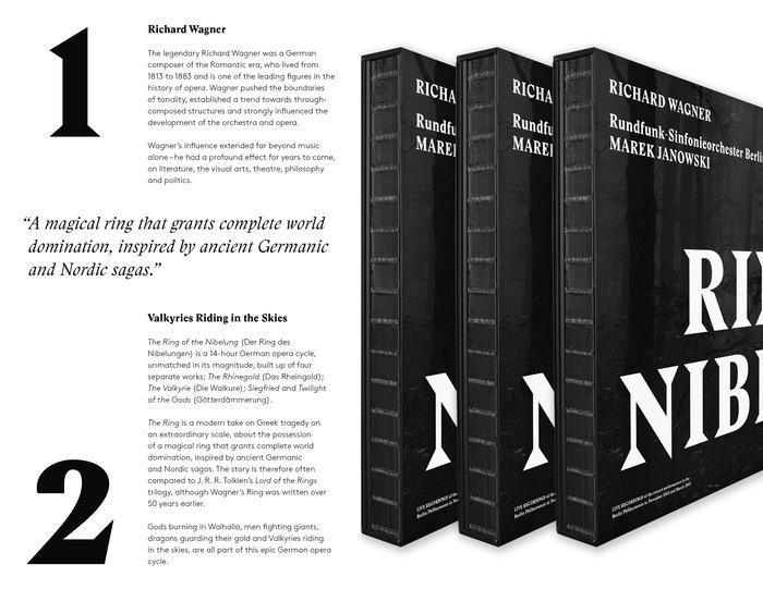 Der Ring des Nibelungen, Pentatone deluxe edition 1