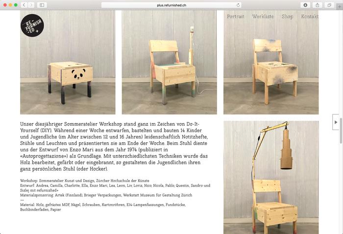 Refurnished+ website 3