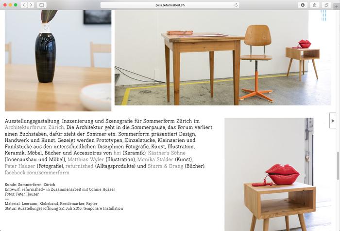 Refurnished+ website 2