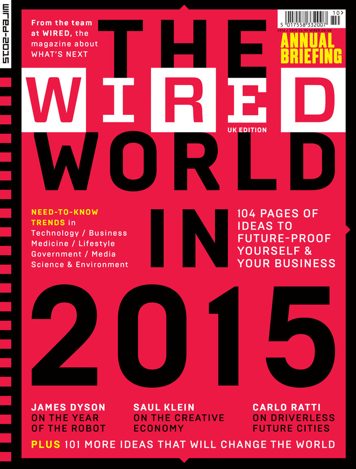 "Wired (UK) magazine, ""The Wired World"" 2015, 2016 4"