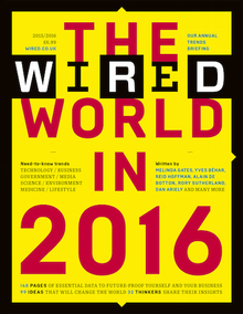 """<cite>Wired UK</cite>, """"The Wired World"""" 2015, 2016"""