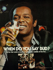 "Budweiser ads: ""When do you say Bud?"""