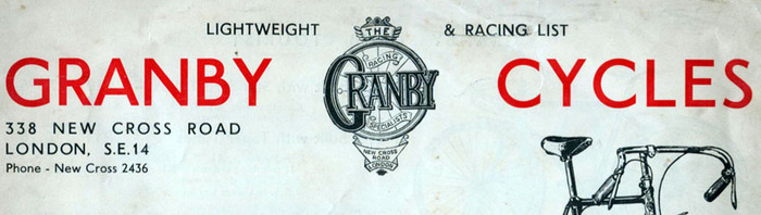 Granby Cycles advertisements 1