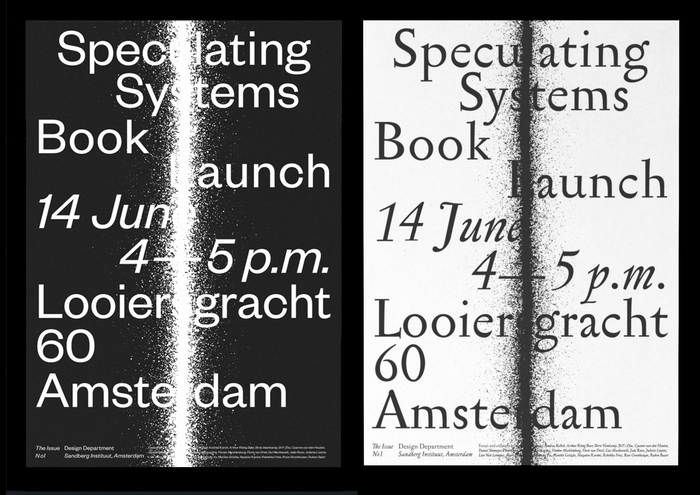 "The Issue No. 1, ""Speculating Systems"" 8"