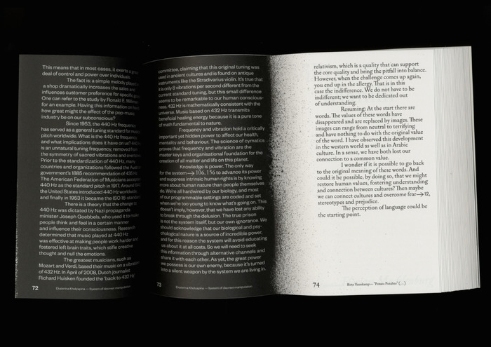 """The Issue No. 1, """"Speculating Systems"""" 2"""