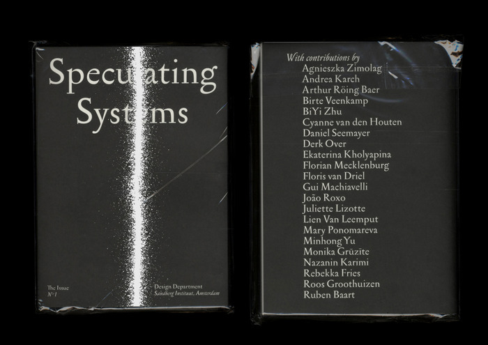 "The Issue No. 1, ""Speculating Systems"" 1"