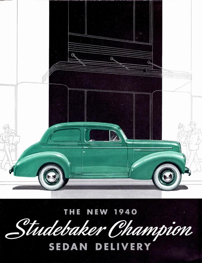 1940 Studebaker Champion brochure