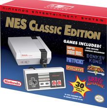 Nintendo Entertainment System NES Classic Edition packaging