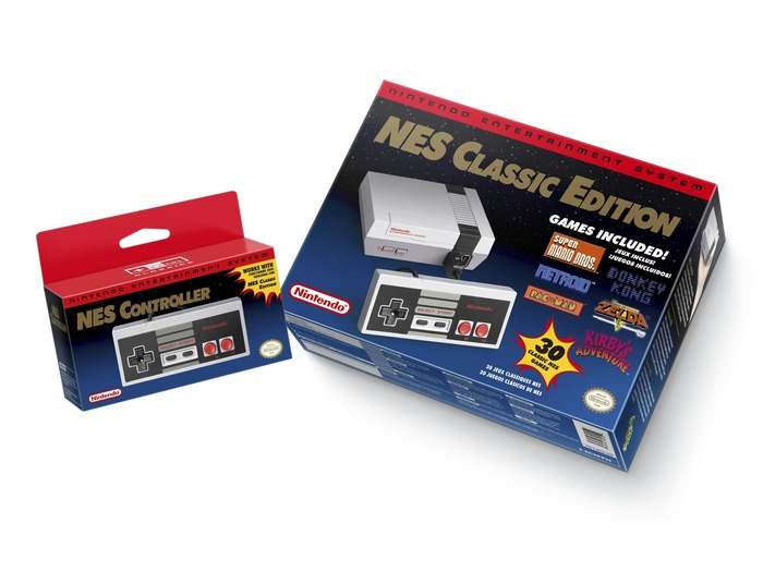 Nintendo Entertainment System NES Classic Edition packaging 2