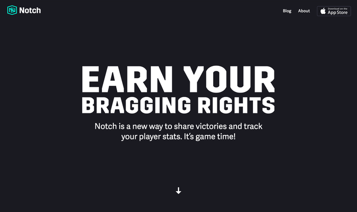 Notch website.