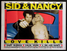 <cite>Sid &amp; Nancy – Love Kills</cite> movie posters