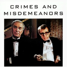 <cite>Crimes and Misdemeanors</cite> movie poster