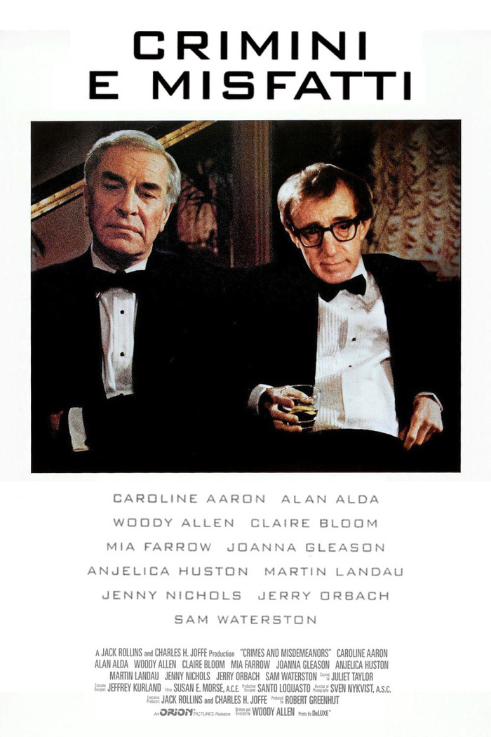 Crimes and Misdemeanors movie poster 2