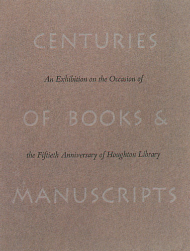Centuries of Books and Manuscripts 1