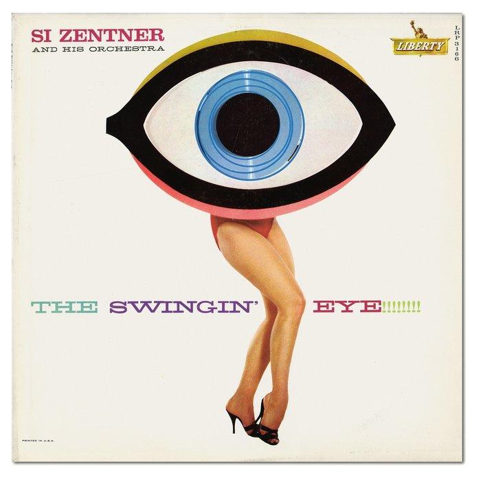 Si Zentner – The Swinging' Eye!!!!!!!! album art