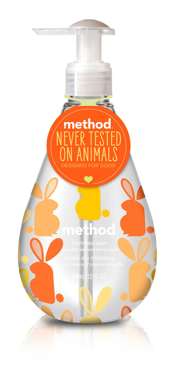method — never tested on animals 1