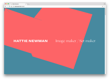 Hattie Newman website