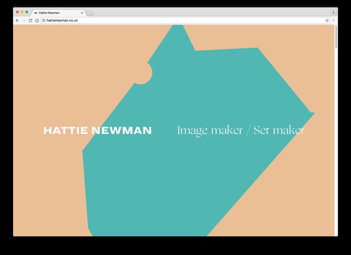 Hattie Newman website 3