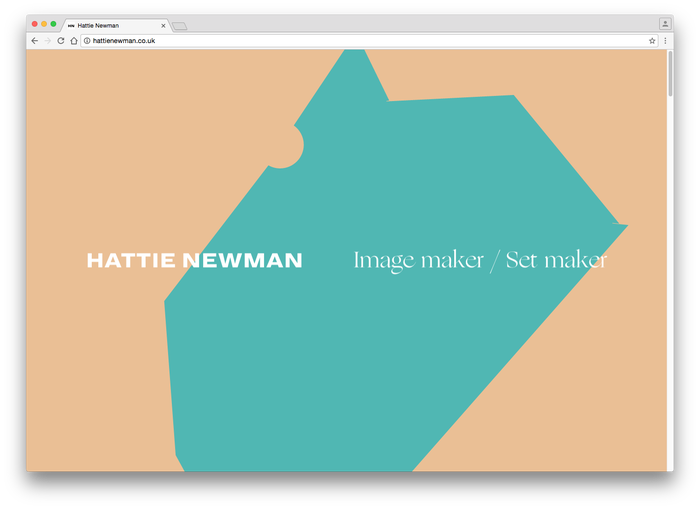 Hattie Newman website 3