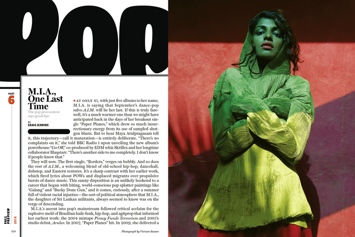 New York magazine, Culture Pages, Fall Preview 2016 5