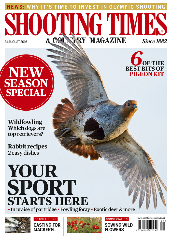 Shooting Times & Country Magazine, 31 Aug 2016