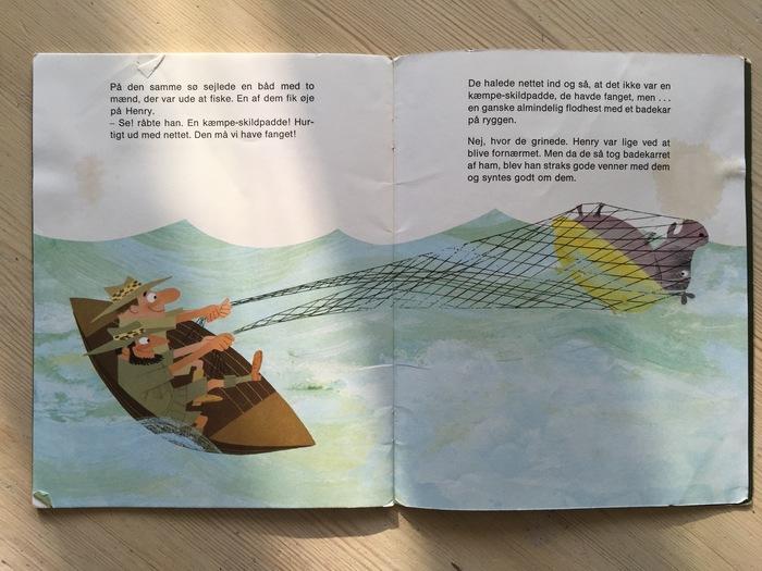 Flodhesten Henry, Illustrationsforlaget 6