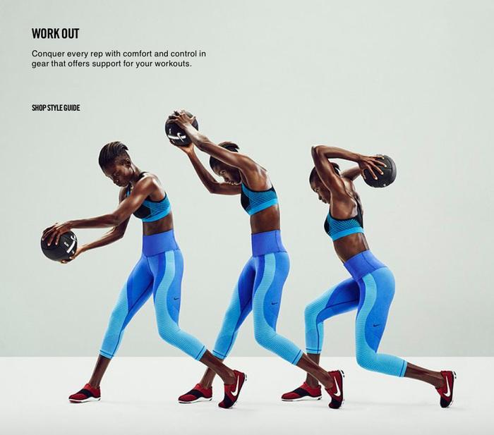 Nike website (2016) 3