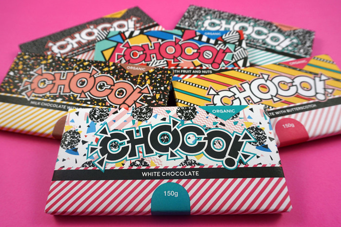 CHOCO packaging and branding 1