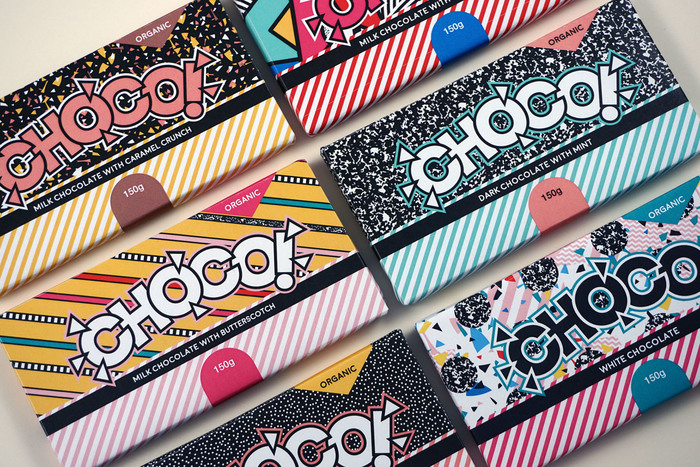 CHOCO packaging and branding 3