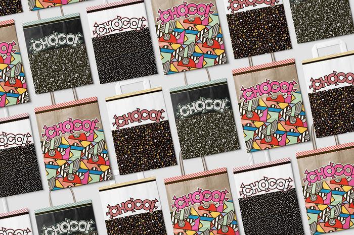 CHOCO packaging and branding 6