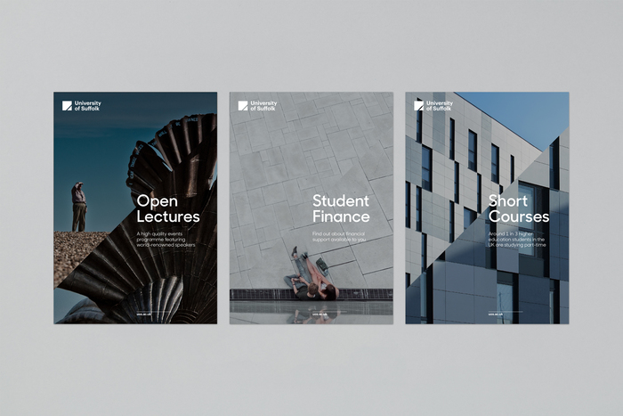 University of Suffolk brand identity 5