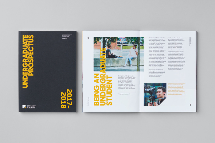 University of Suffolk brand identity 3