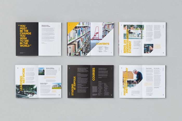 University of Suffolk brand identity 4