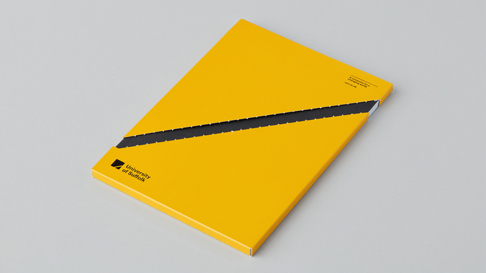 University of Suffolk brand identity 2