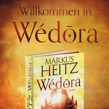 <cite>Wédōra – Staub und Blut</cite> by Markus Heitz, Knaur