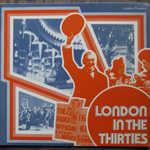 <cite>London In The Thirties</cite>, London Museum