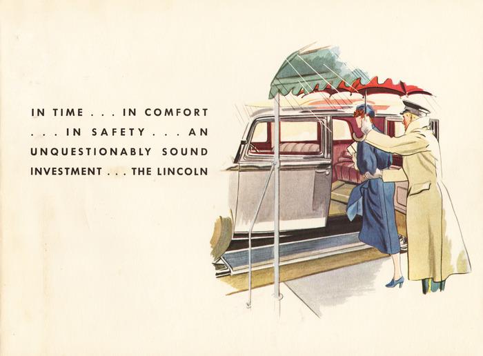 1933 Lincoln Three Window Berline brochure 1