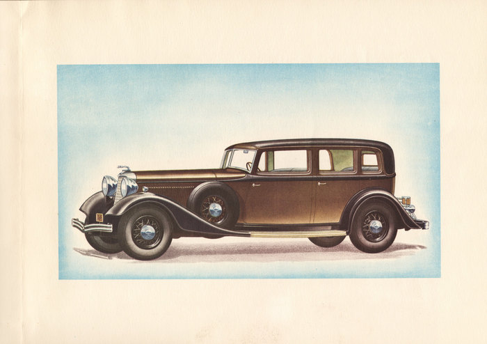 1933 Lincoln Three Window Berline brochure 3