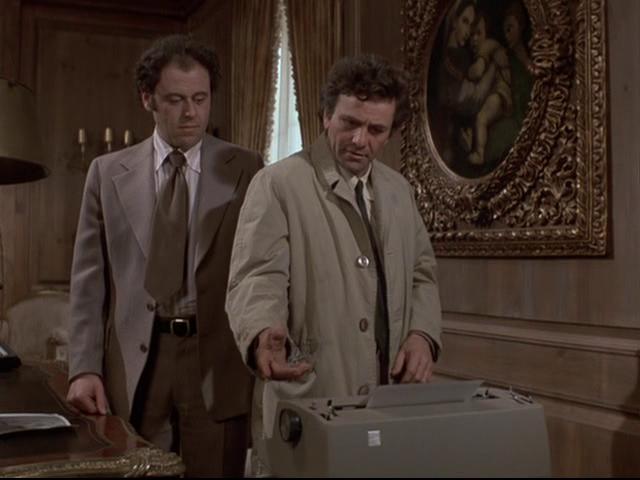 "Columbo, ""Now You See Him"" 2"