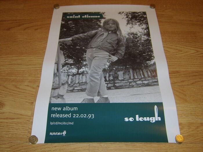 Saint Etienne – So Tough album art 2