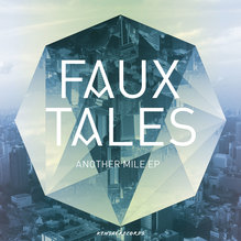 <cite>Faux Tales</cite> logo and covers