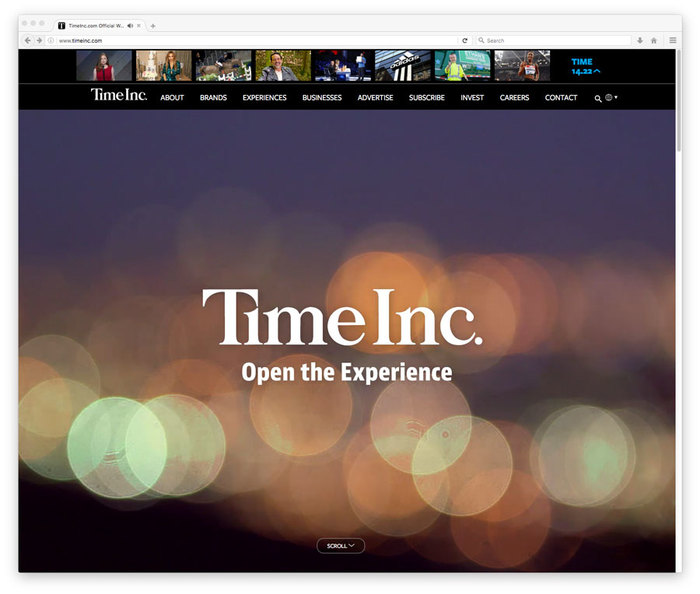 TimeInc website 3