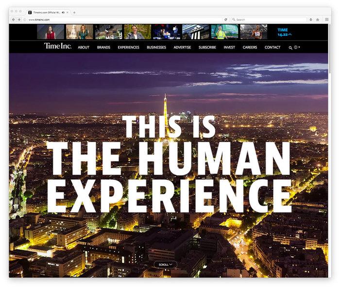 TimeInc website 1